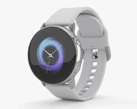 3D model of Samsung Galaxy Watch Active Silver