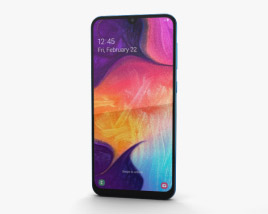3D model of Samsung Galaxy A50 Blue