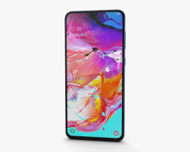 3D model of Samsung Galaxy A70 Blue