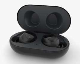3D model of Samsung Galaxy Buds Black
