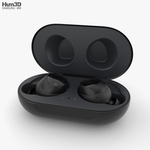 Samsung Galaxy Buds Black 3D model