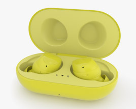 3D model of Samsung Galaxy Buds Yellow