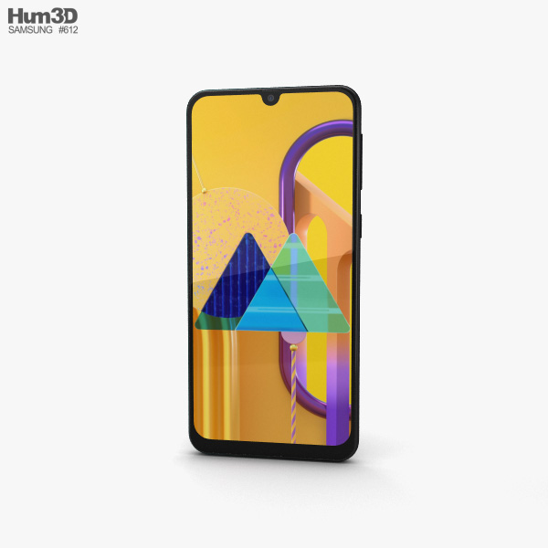 Samsung Galaxy M30s Opal Black 3D model