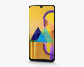 Samsung Galaxy M30s Pearl White 3D model