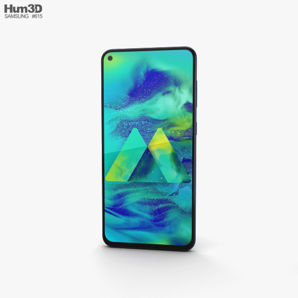 Samsung Galaxy M40 Midnight Blue 3D model