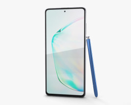 3D model of Samsung Galaxy Note10 Lite Aura Glow