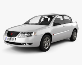 3D model of Saturn Ion 2004