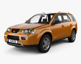 3D model of Saturn Vue 2006