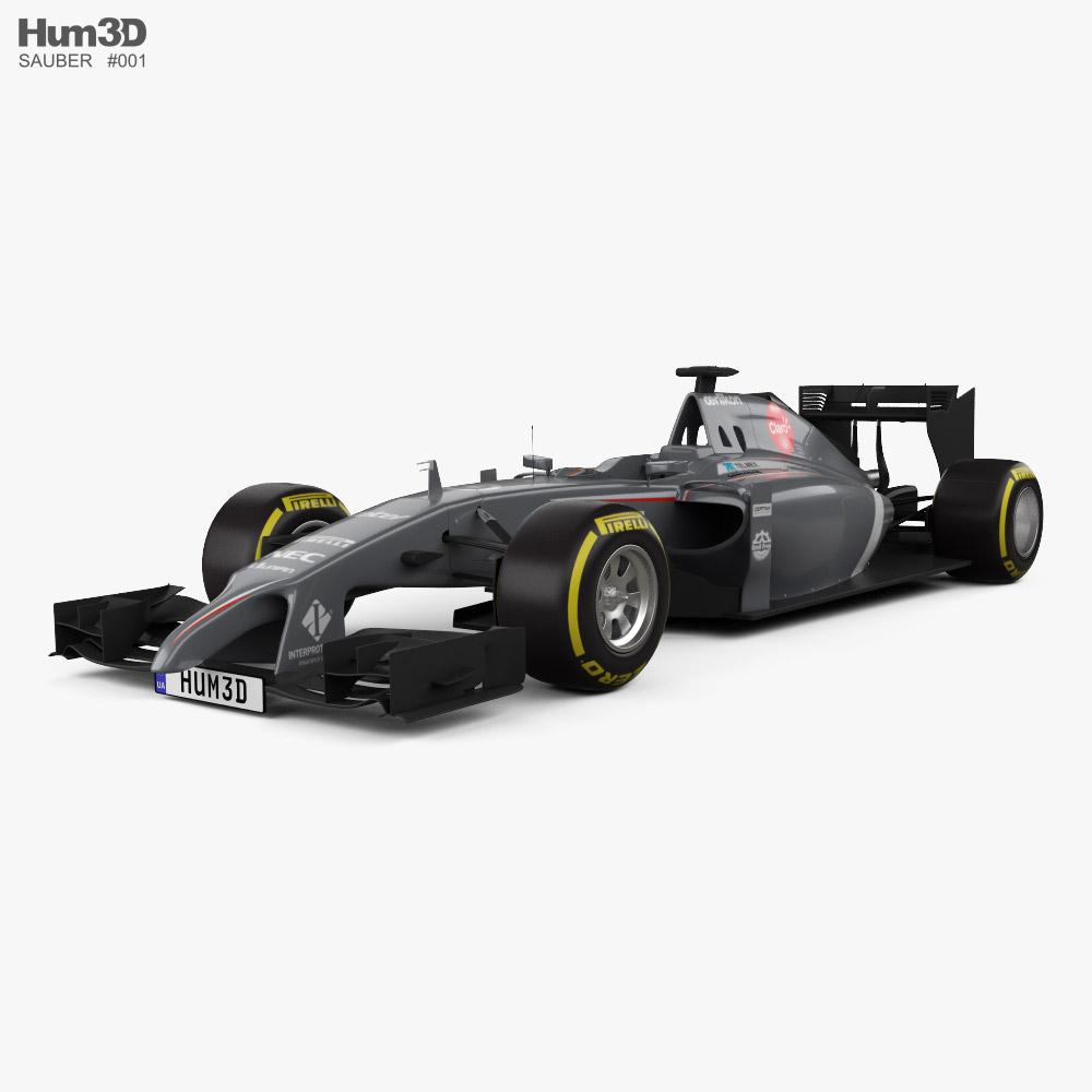 Sauber C33 2014 3D model