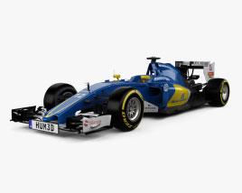 Sauber C35 F1 2016 3D model
