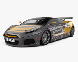 3D model of Savage Rivale GTR 2014