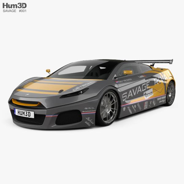 3D model of Savage Rivale GTR 2014