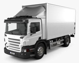 3D model of Scania P Box 2011