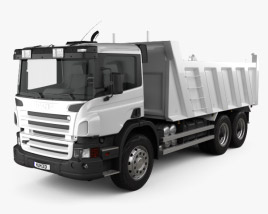 3D model of Scania P Tipper 2011