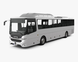 3D model of Scania Interlink Bus 2015