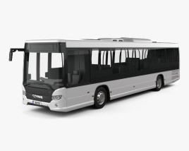 3D model of Scania Citywide LE Bus 2011