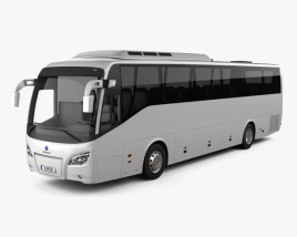 3D model of Scania Higer A30 Bus 2015