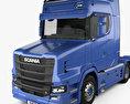 Scania S730 T Tractor Truck 2017 3d model