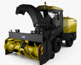 3D model of Schmidt Supra 5002 Snow Cutter Blower 2018