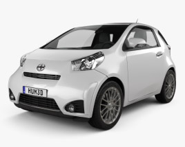 3D model of Scion iQ 2012