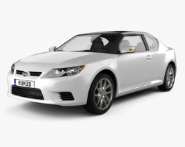 3D model of Scion tC 2012