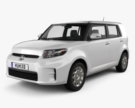 3D model of Scion xB 2012
