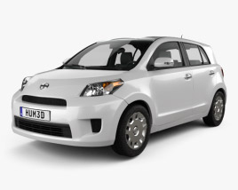 3D model of Scion xD 2012