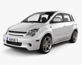 3D model of Scion xA 2006
