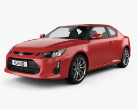 3D model of Scion tC 2014