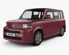 3D model of Scion xB 2003