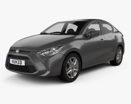 3D model of Scion iA 2016