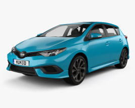 3D model of Scion iM 2016