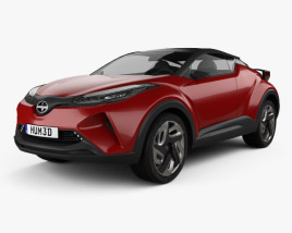 3D model of Scion C-HR 2015