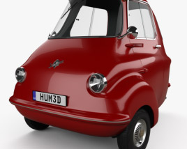 3D model of Scootacar Mk I 1959