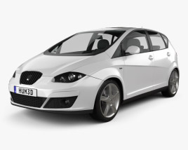 3D model of Seat Altea 2010