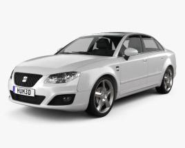 3D model of Seat Exeo Sedan 2009
