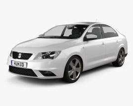 3D model of Seat Toledo Mk4 2012