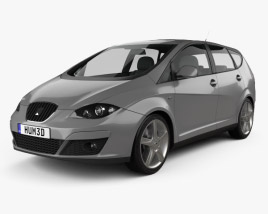 3D model of Seat Altea XL 2009