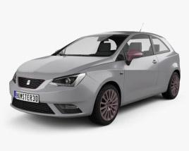 3D model of Seat Ibiza SC 2015