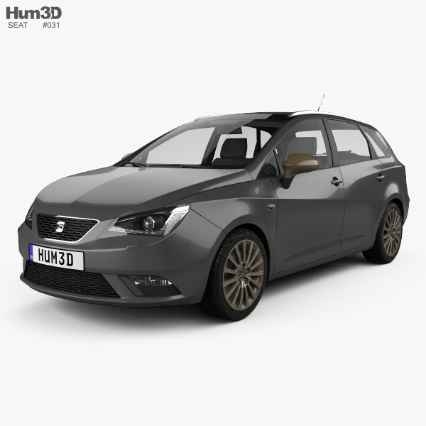 Seat Ibiza ST 2015 3D model