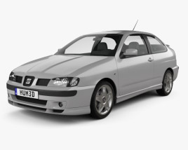3D model of Seat Cordoba Cupra 2000