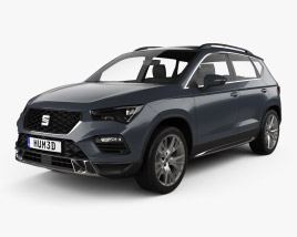 3D model of Seat Ateca Xperience 2020