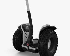 3D model of Segway 2X Adventure 2012