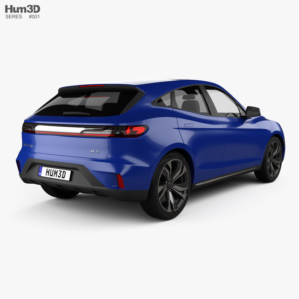 Seres SF5 2019 3d model