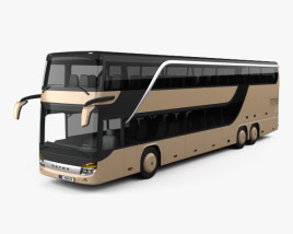 3D model of Setra S 431 DT Bus 2013