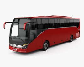 3D model of Setra S 515 HD Bus 2012