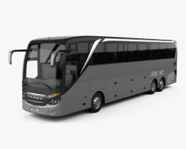 3D model of Setra S 516 HDH Bus 2013