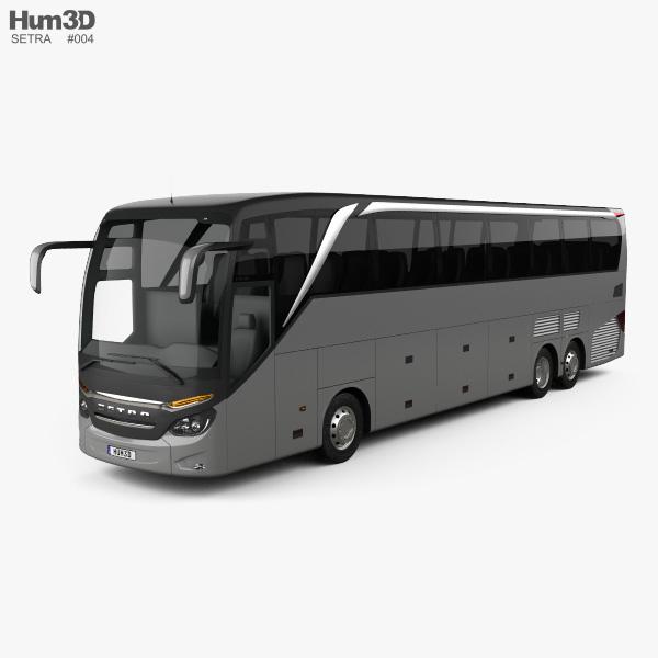 3D model of Setra S 516 HDH Bus 2013