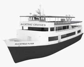Alcatraz Flyer cruise ship 3D model
