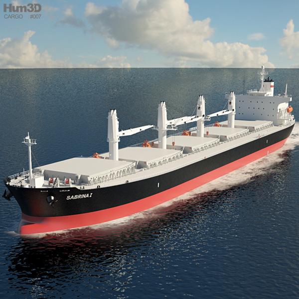 3D model of Sabrina I Bulk carrier